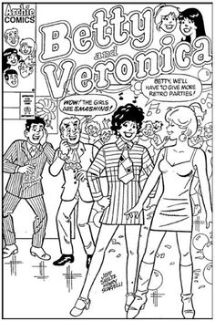 betty and veronica coloring pages betty and veronica coloring pages vingel coloring veronica pages betty and