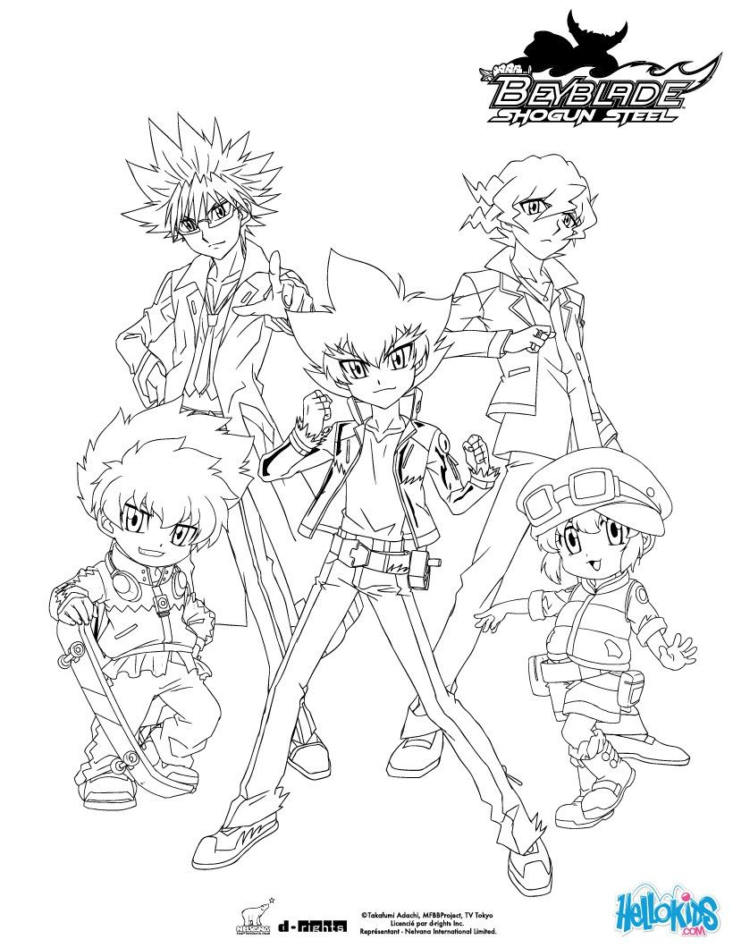 beyblade characters coloring pages beyblade burst coloring sheets kerra pages characters coloring beyblade