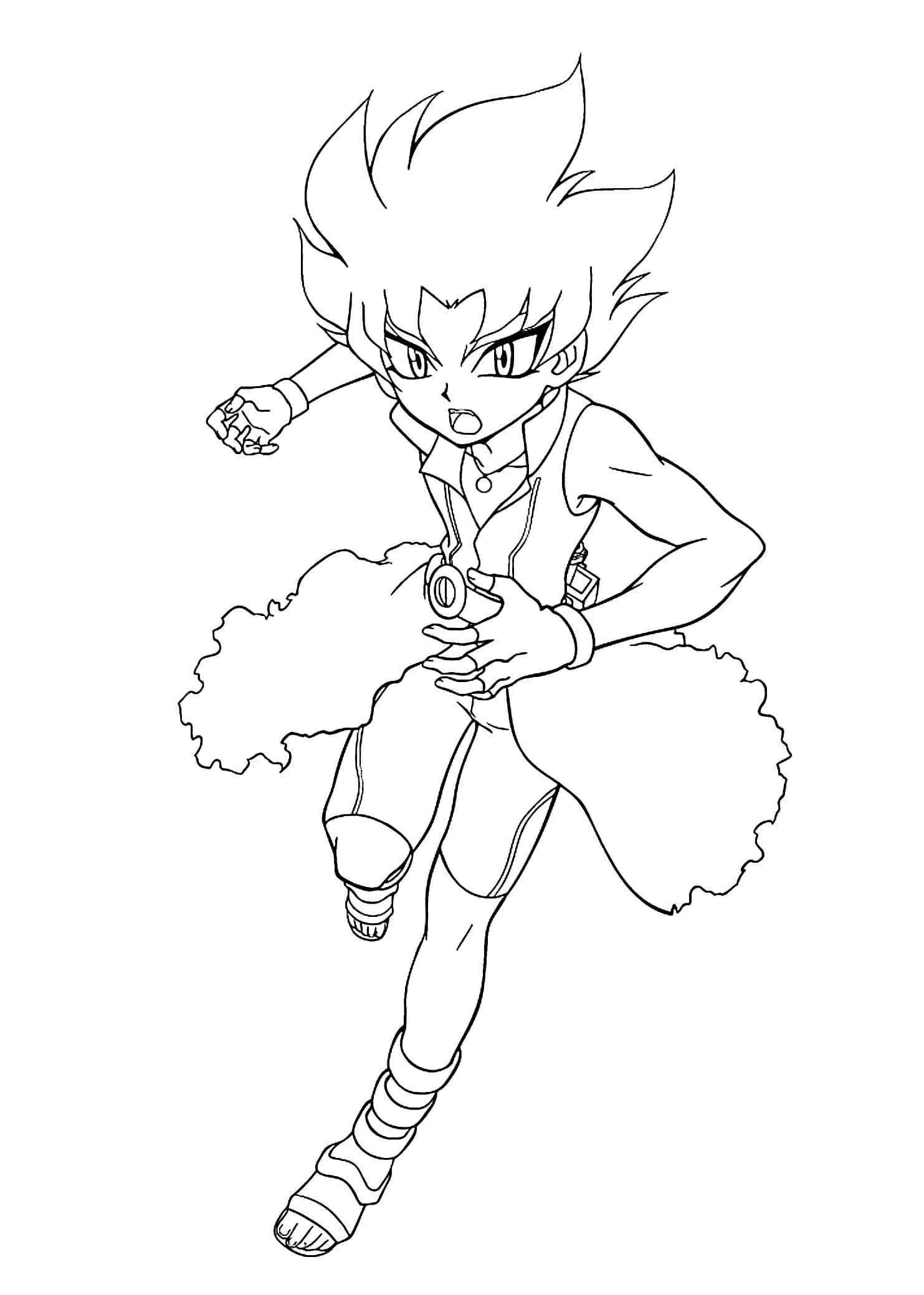 beyblade characters coloring pages beyblade coloring pages getcoloringpagescom characters pages beyblade coloring