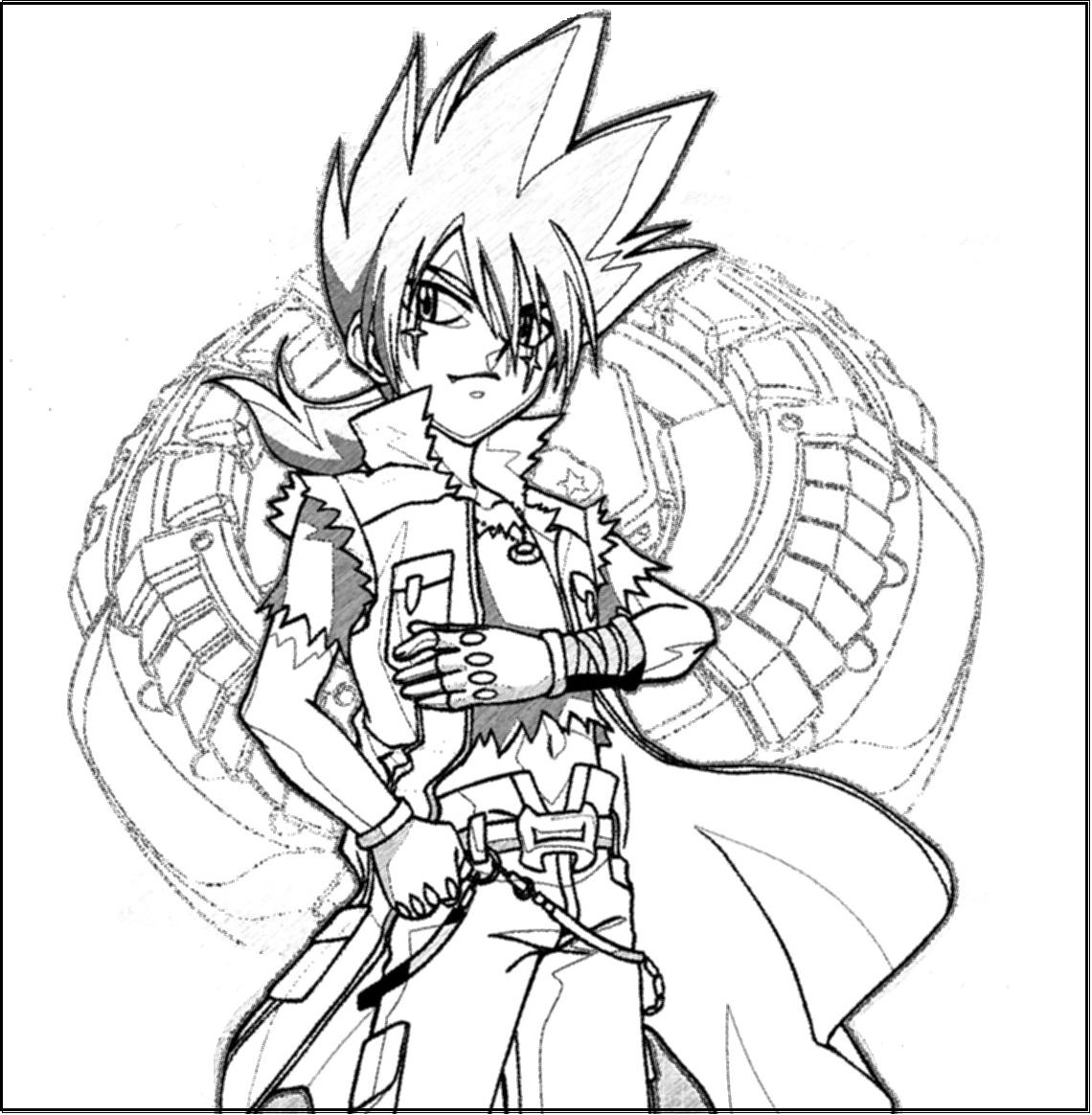 beyblade characters coloring pages beyblade free to color for children beyblade kids characters beyblade pages coloring