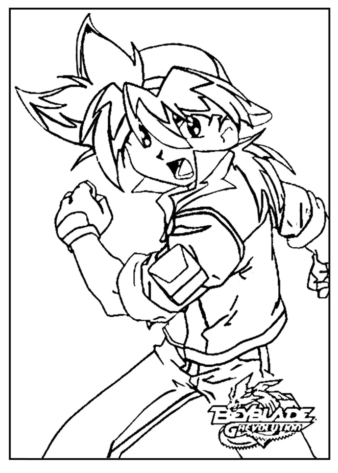beyblade characters coloring pages for now you can tackle this tutorial on how to draw tyson coloring characters beyblade pages
