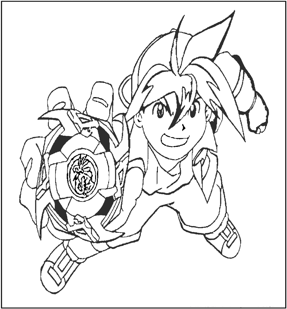 beyblade characters coloring pages kai from beyblade burst coloring pages free printable characters beyblade coloring pages