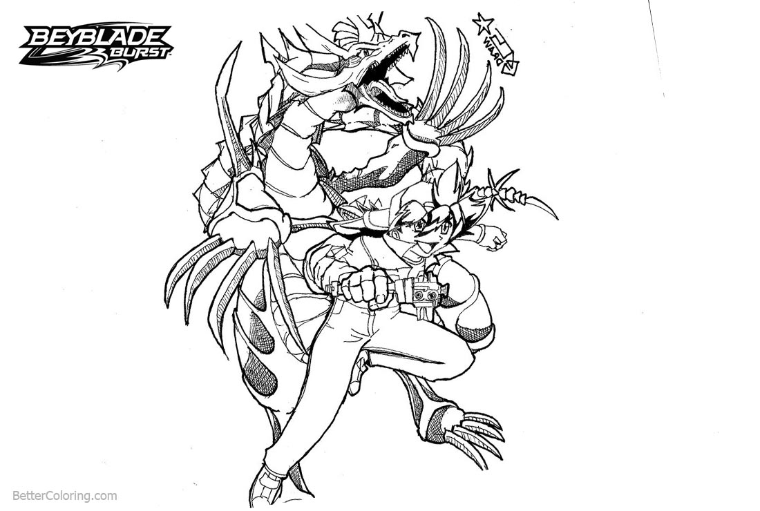 beyblade characters coloring pages zyro beyblade anime coloring pages for kids printable characters pages beyblade coloring