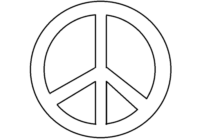 big peace sign coloring pages big peace sign coloring pages free image trippy coloring big coloring sign pages peace