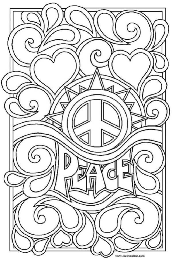 big peace sign coloring pages free printable peace sign coloring pages coloring home peace coloring pages big sign