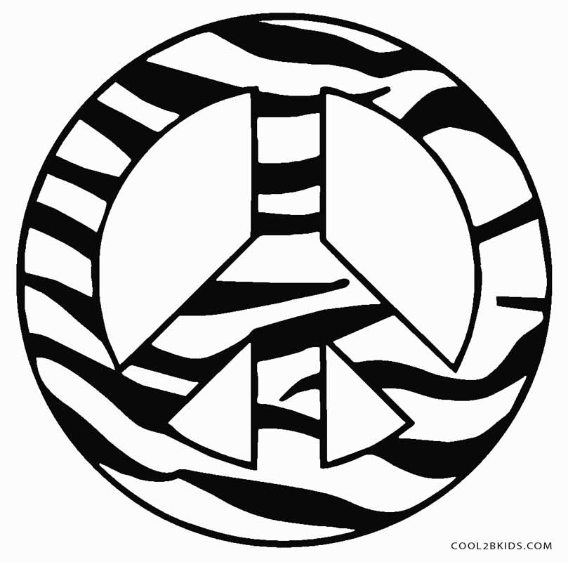 big peace sign coloring pages free printable peace sign coloring pages cool2bkids pages big sign coloring peace