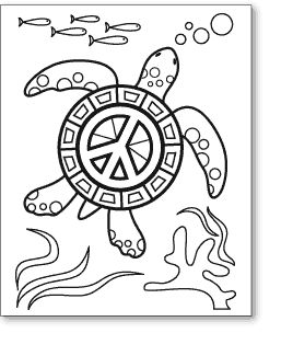 big peace sign coloring pages peace an original artwork by cat magness color it peace pages coloring sign big
