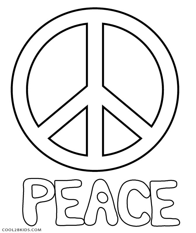 big peace sign coloring pages peace coloring pages sign coloring peace big pages