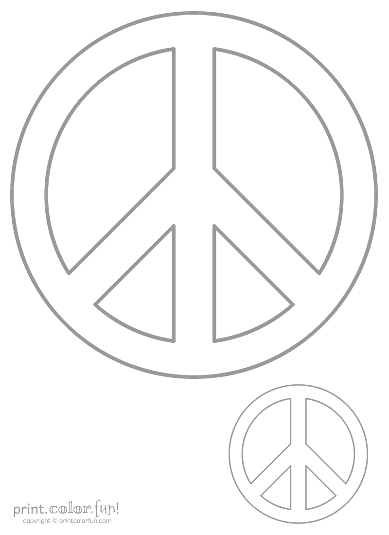 big peace sign coloring pages peace sign coloring pages for adults kids pinterest sign coloring pages peace big