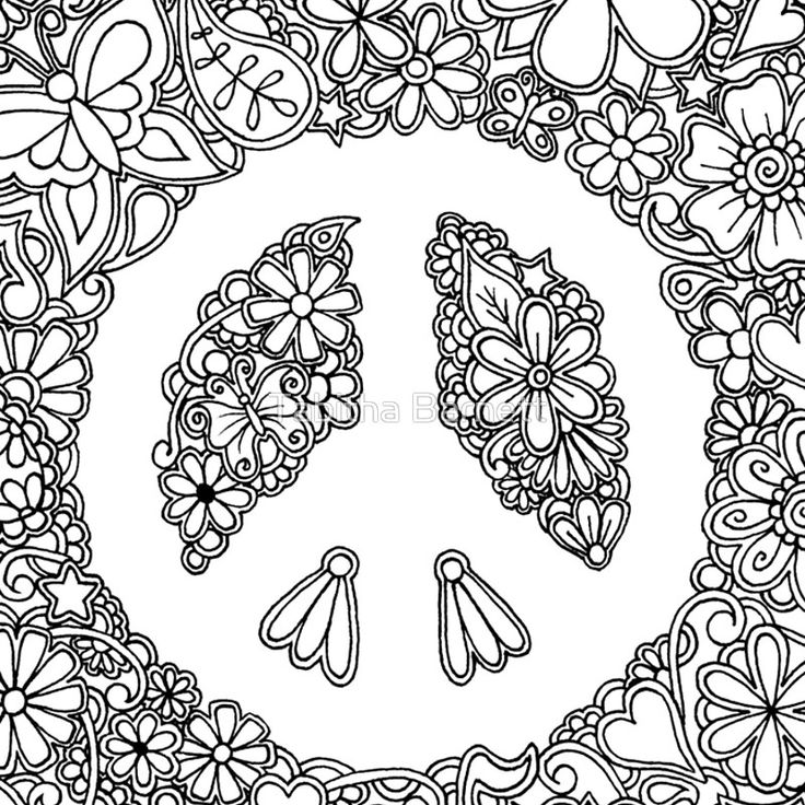 big peace sign coloring pages printable peace signs clipartsco coloring pages peace sign big