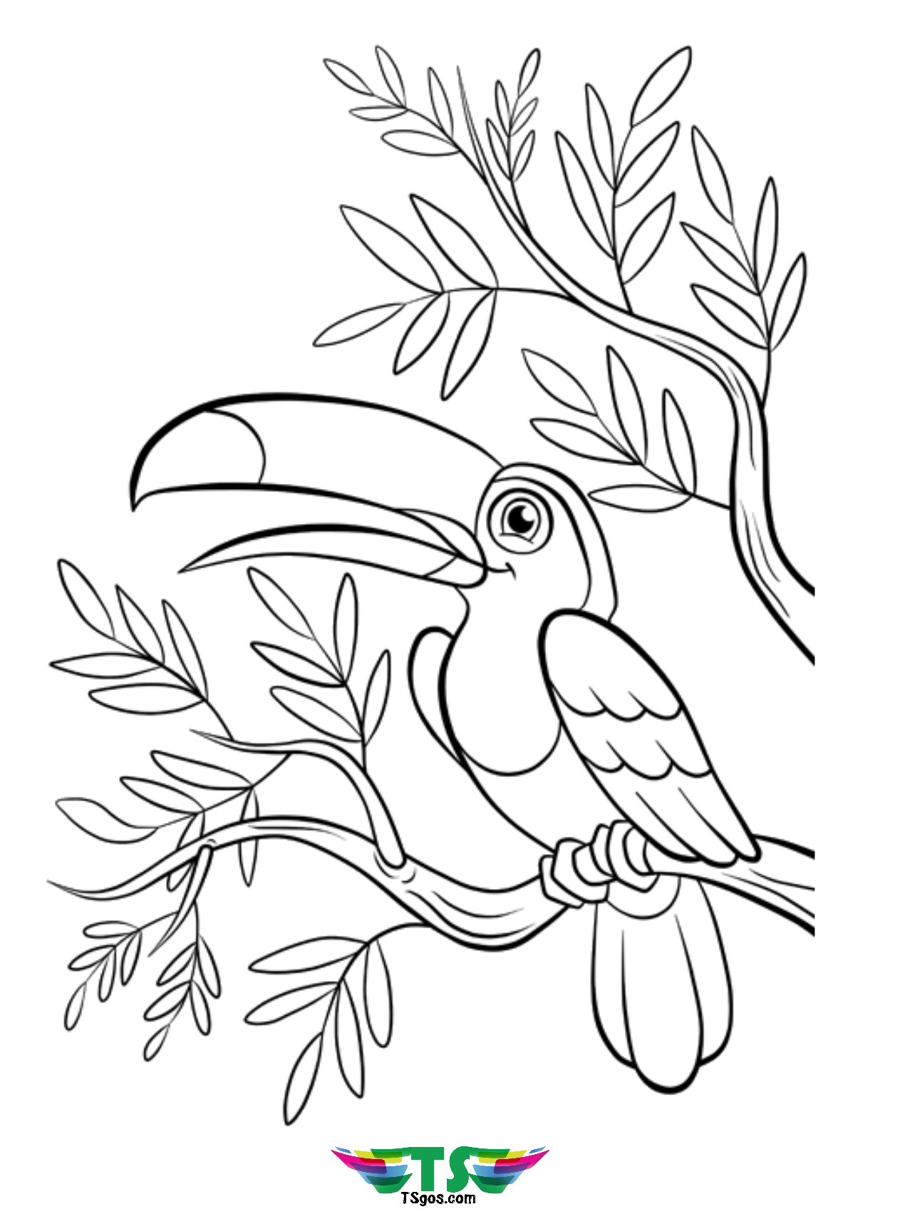 bird colouring pictures birds coloring page happy family art bird colouring pictures