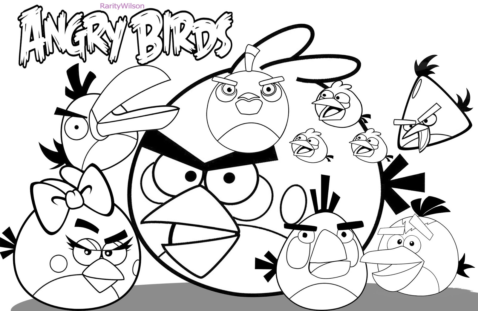 bird colouring pictures birds coloring pages to knowing the kind of birds name pictures colouring bird