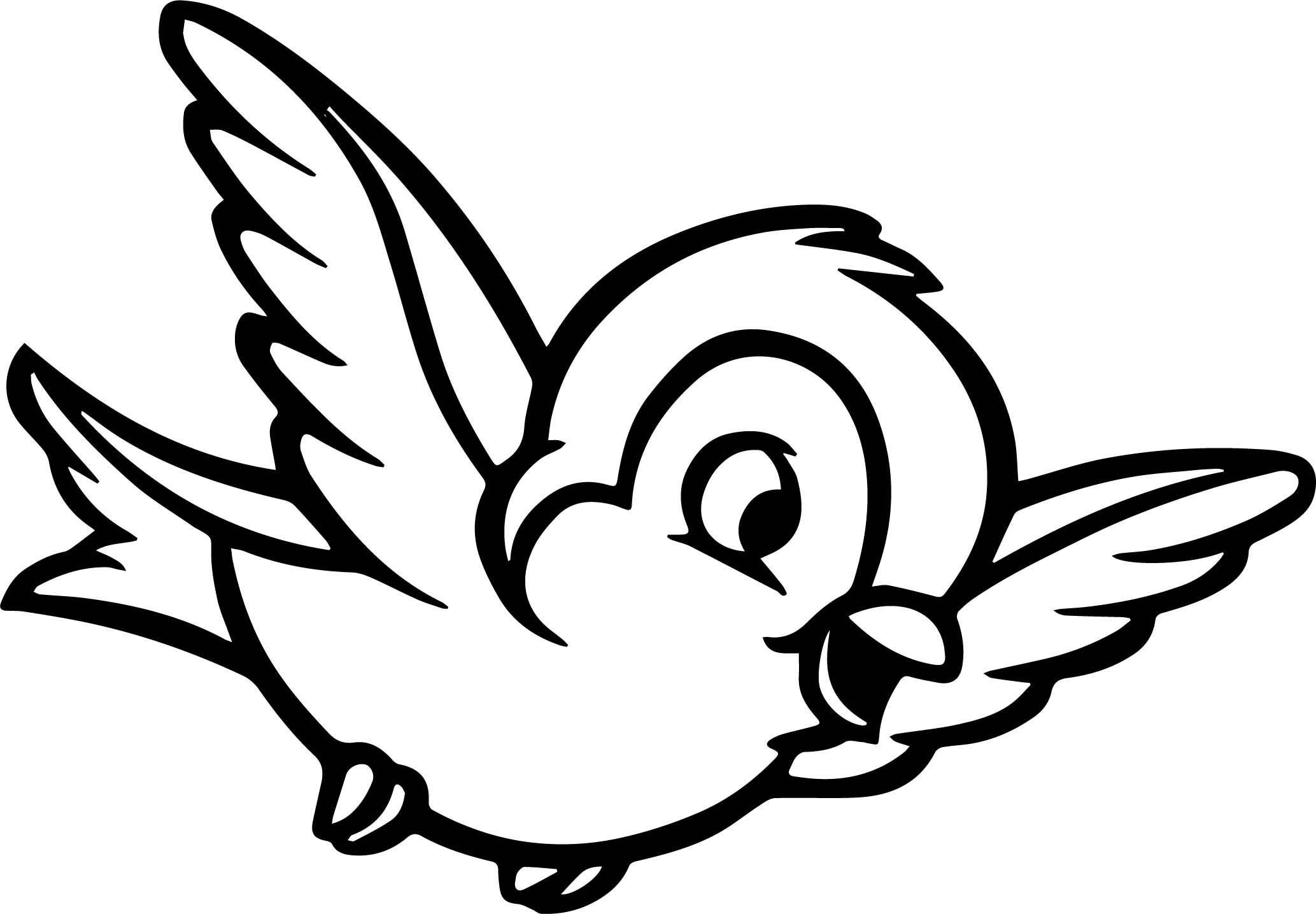 bird colouring pictures cute bird coloring page for kids tsgoscom colouring bird pictures