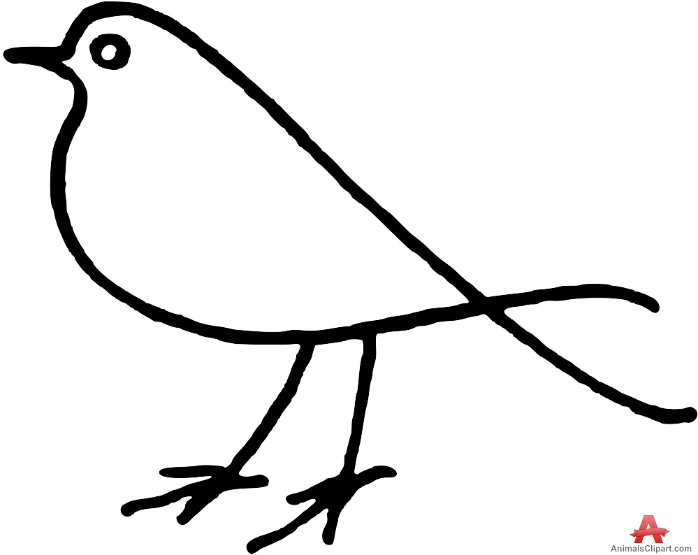 bird outlines bird outline clip art clipart best bird outlines