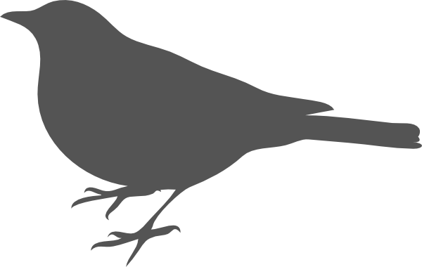 bird outlines bird outline gray clip art at clkercom vector clip art bird outlines