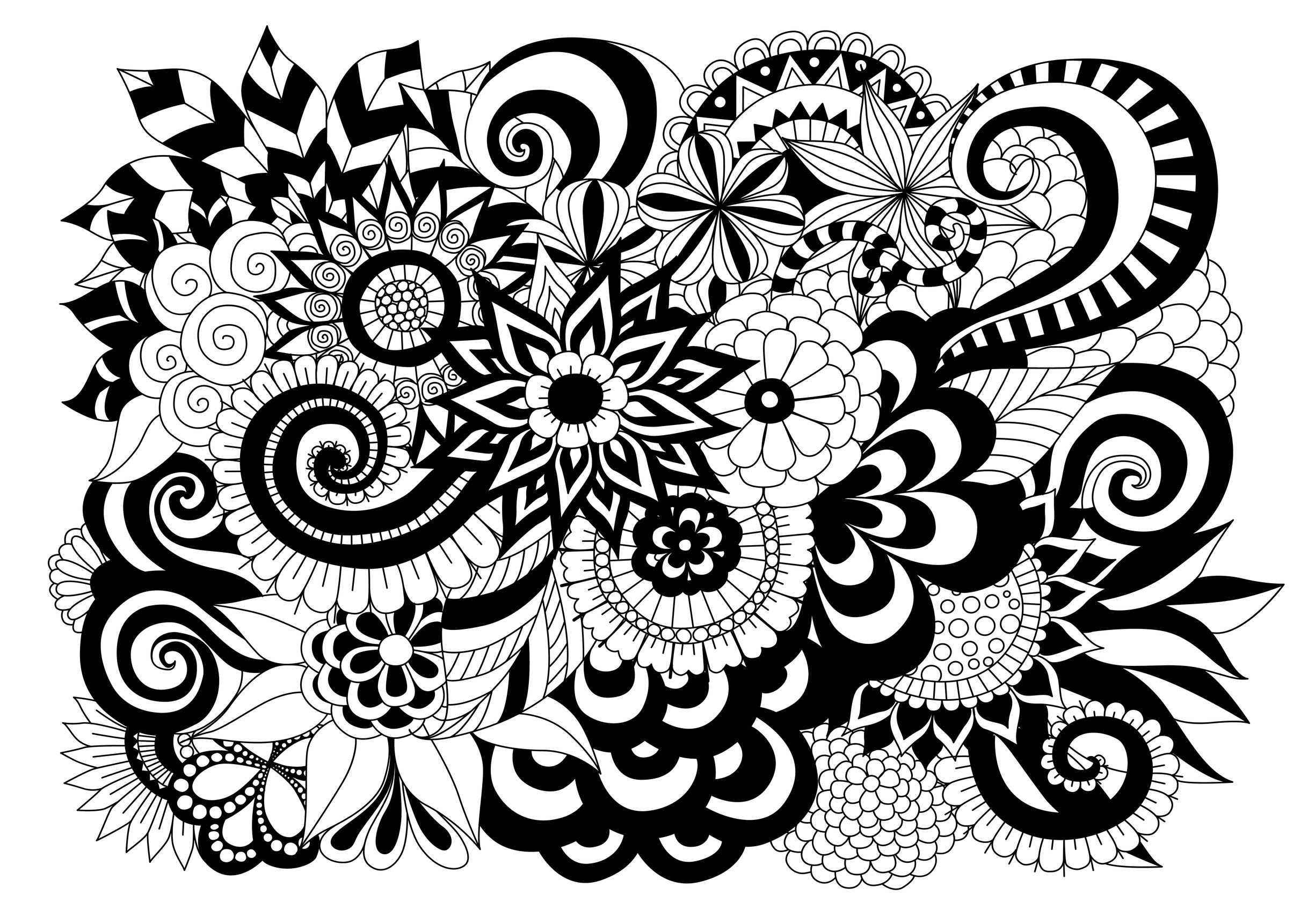 black and white coloring pages for adults black and white geometric coloring page coloring home pages coloring for and adults black white