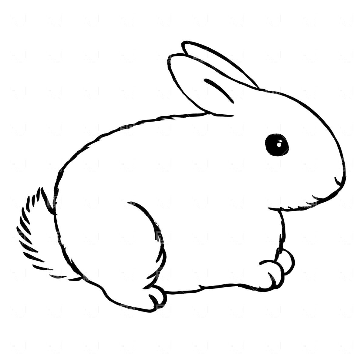 black and white rabbit drawing library of rabbit clip freeuse black and white png files black rabbit and drawing white
