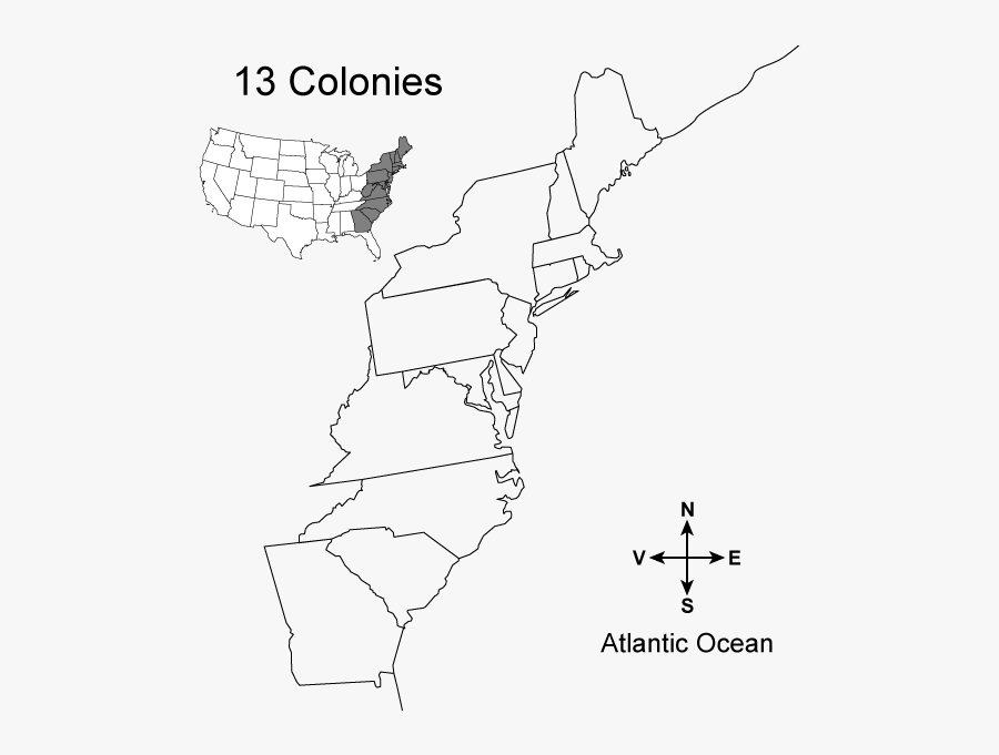 blank 13 colonies map blank map of the 13 colonies free transparent clipart map blank colonies 13