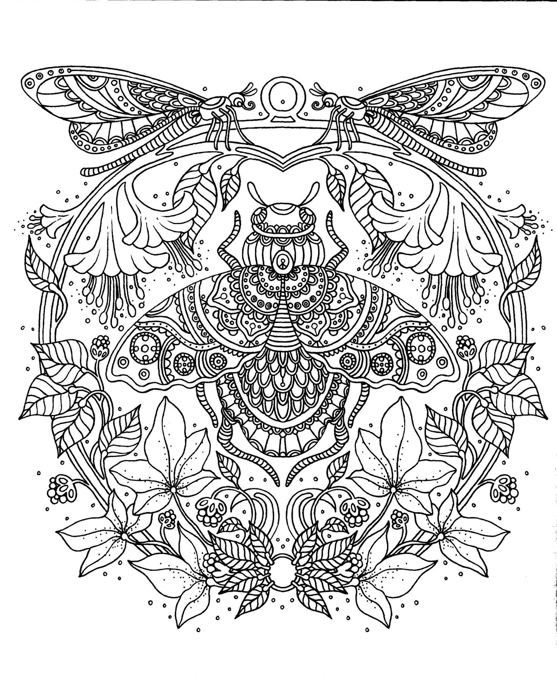 blank coloring pages symmetrical coloring pages at getcoloringscom free coloring blank pages