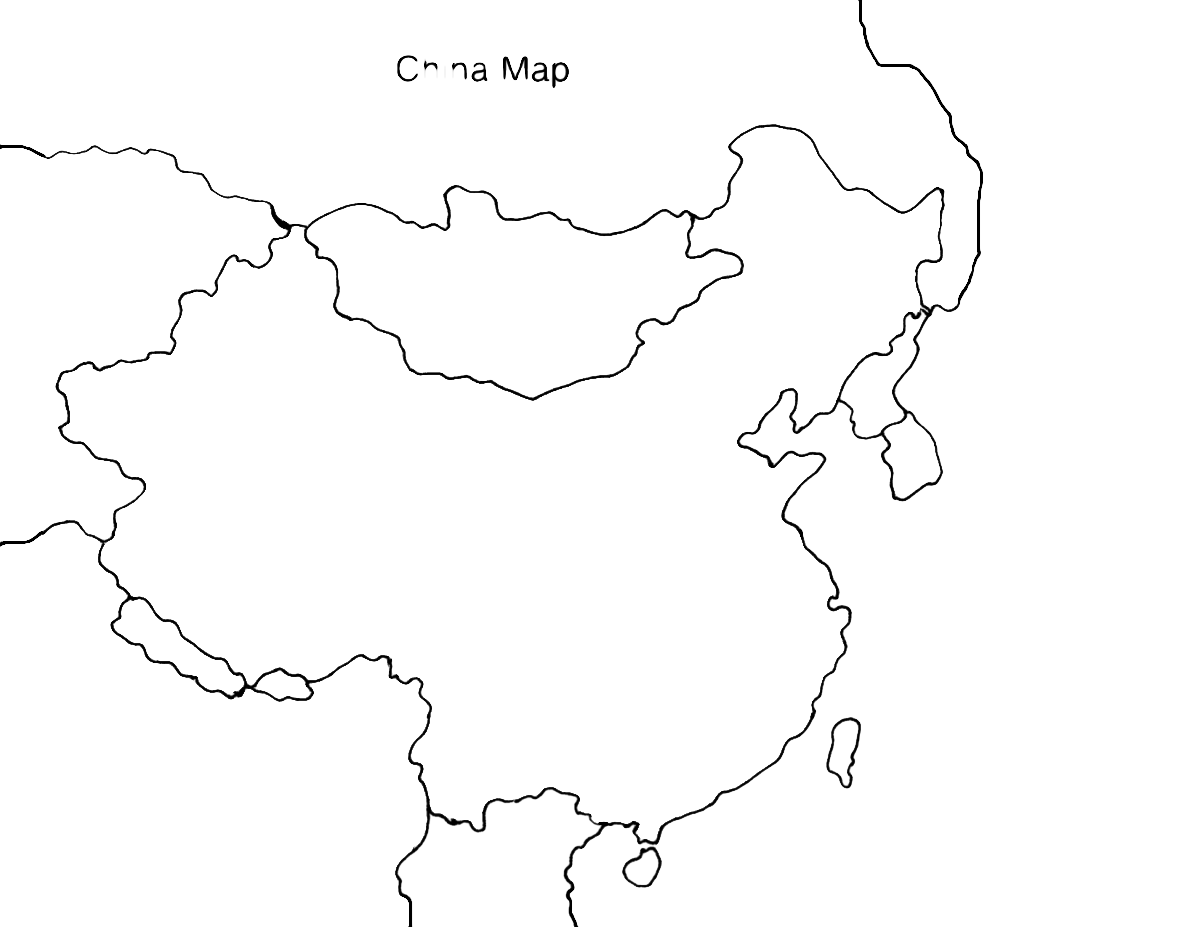 blank map of china blank map of ancient china with rivers and mountains of map china blank