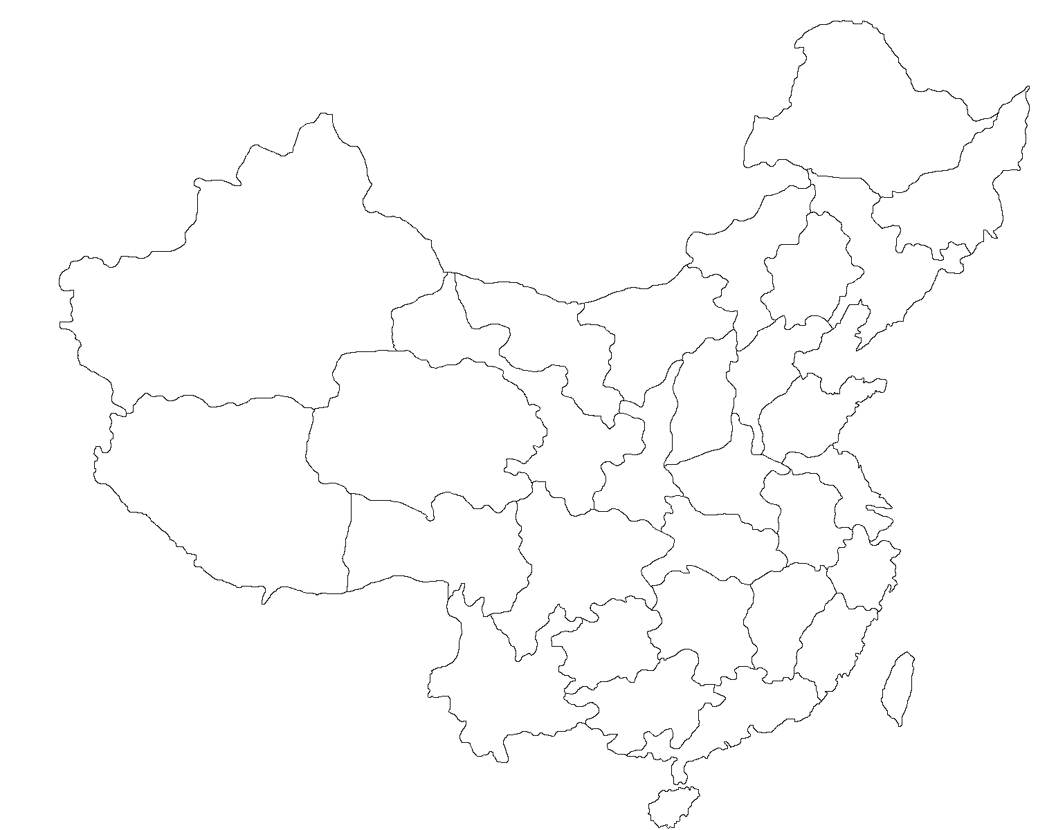 blank map of china line map of china bing images of blank map china