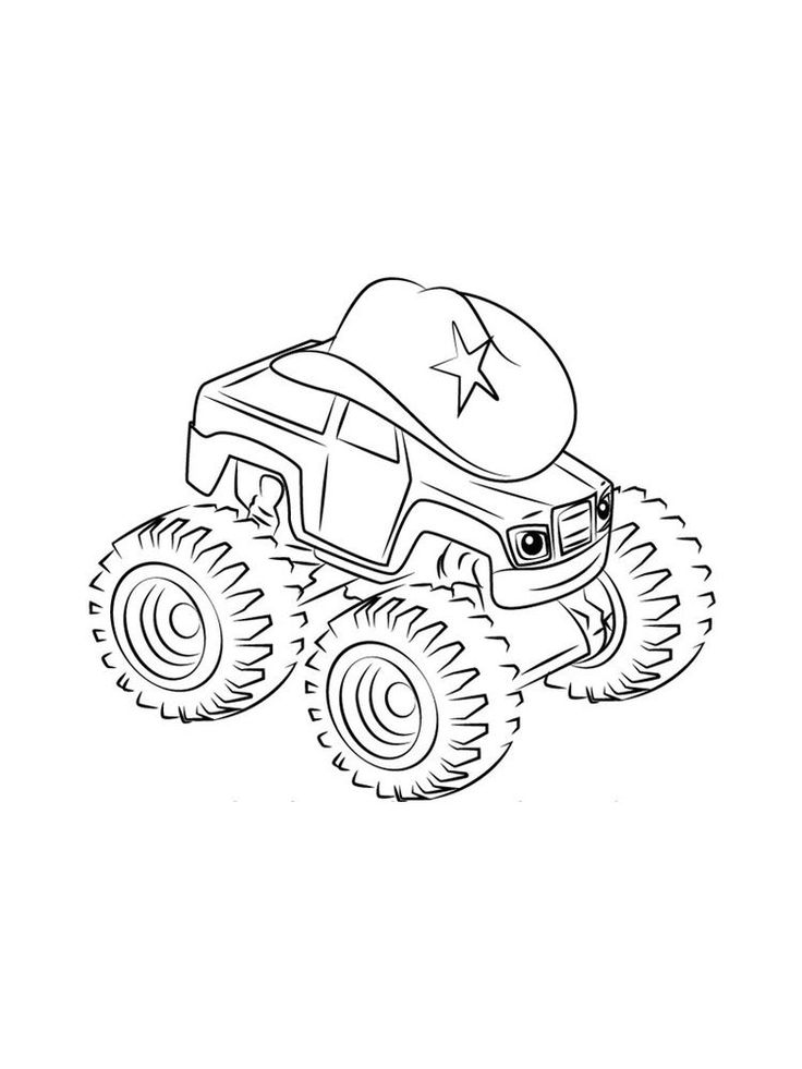 blaze monster truck blaze and the monster machines colouring in pictures monster blaze truck