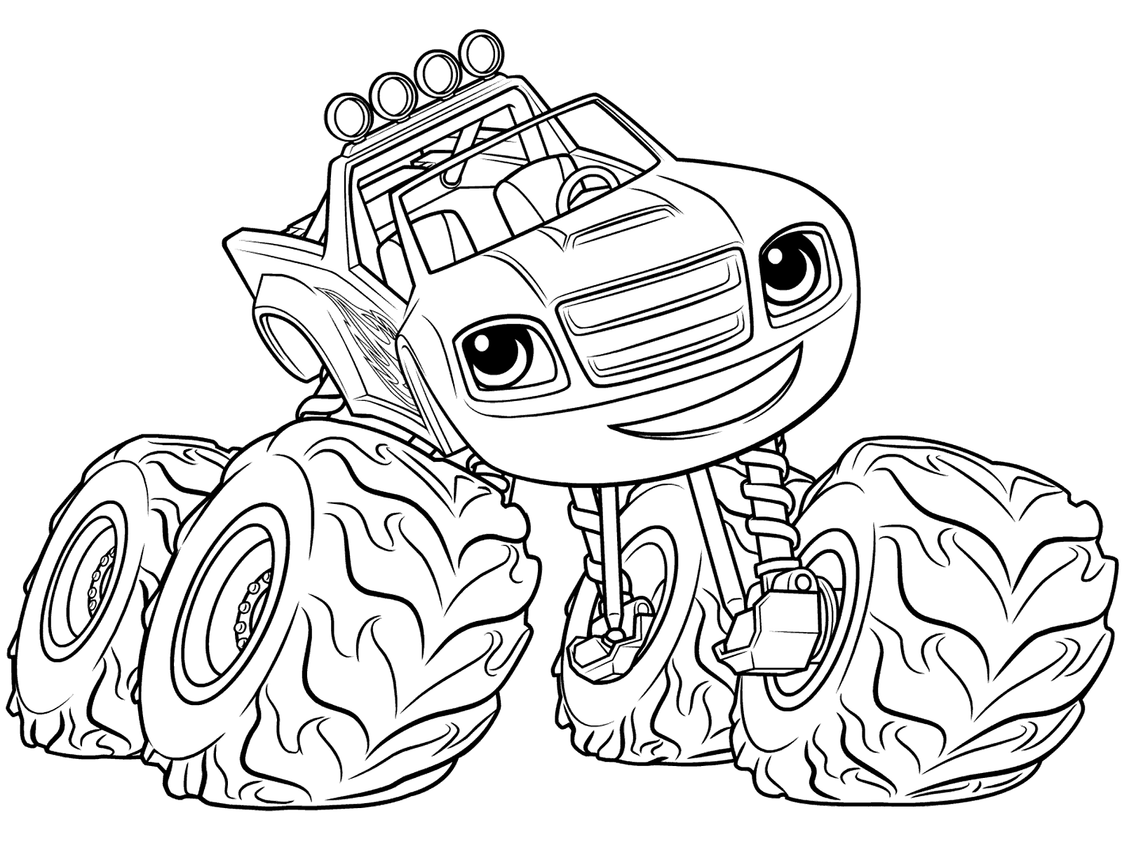 blaze monster truck blaze coloring pages for 2019 with images monster truck blaze monster