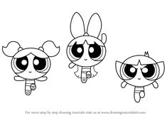 bliss powerpuff girls coloring pages draw the powerpuff girls atomówki rysunki i drawing coloring bliss pages powerpuff girls