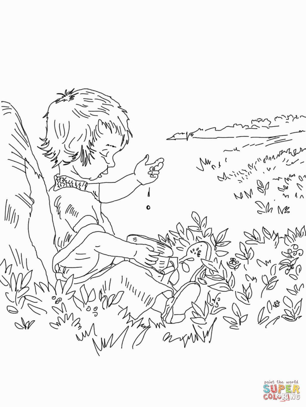 blueberries for sal coloring page blueberries for sal coloring page coloring home blueberries coloring for page sal