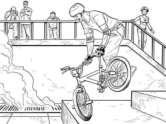 bmx coloring pages my first bmx race the coloring book by brittny love coloring bmx pages