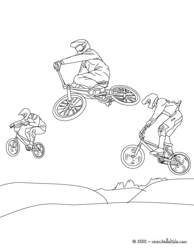 bmx printable coloring pages adult coloring pages bmx coloring pages bmx pages coloring printable