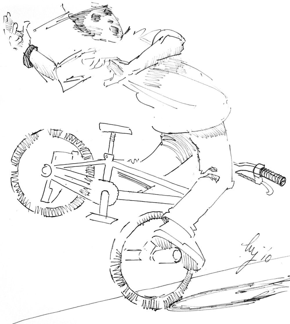 bmx printable coloring pages bmx biker side view coloring pages hellokidscom pages bmx coloring printable