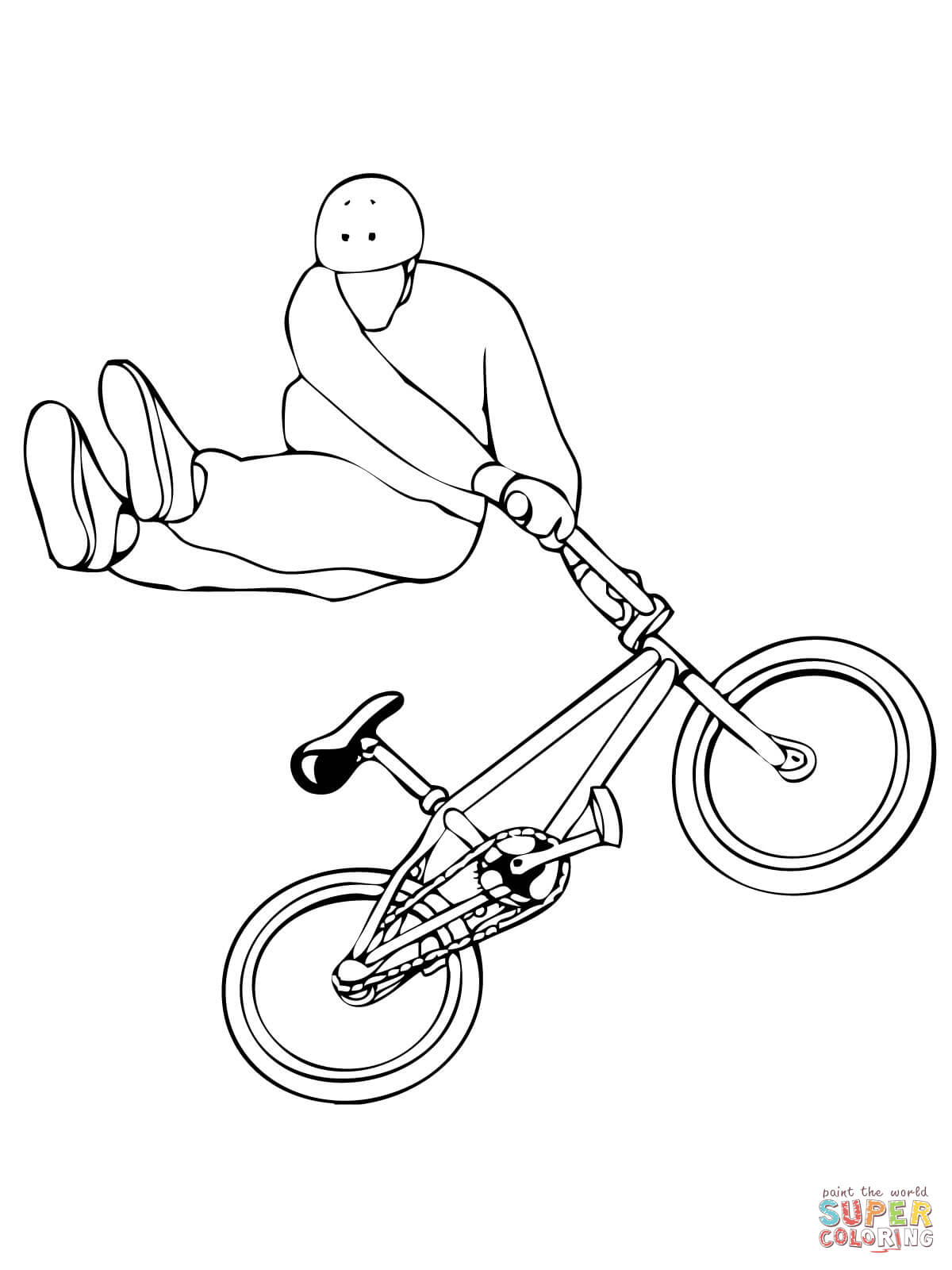 bmx printable coloring pages bmx coloring page coloring home coloring bmx printable pages
