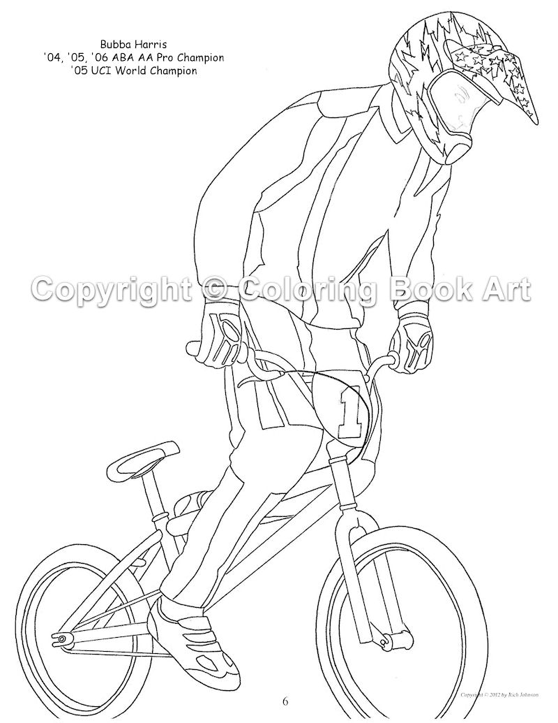 bmx printable coloring pages bmx coloring page coloring home pages printable coloring bmx
