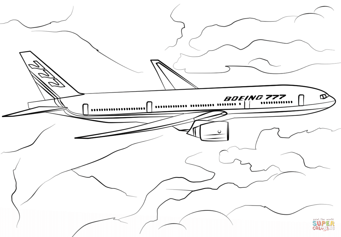 boeing 777 coloring page coloring page boeing 777 free printable coloring pages coloring 777 page boeing