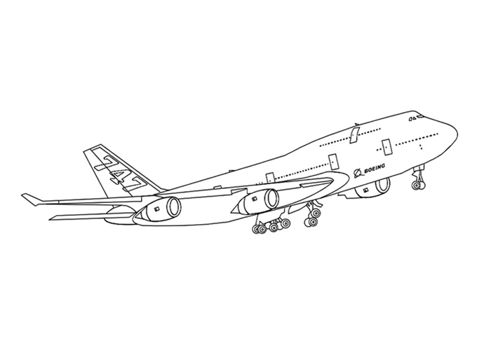 boeing 777 coloring page learn how to draw a boeing 787 airplanes step by step 777 coloring page boeing