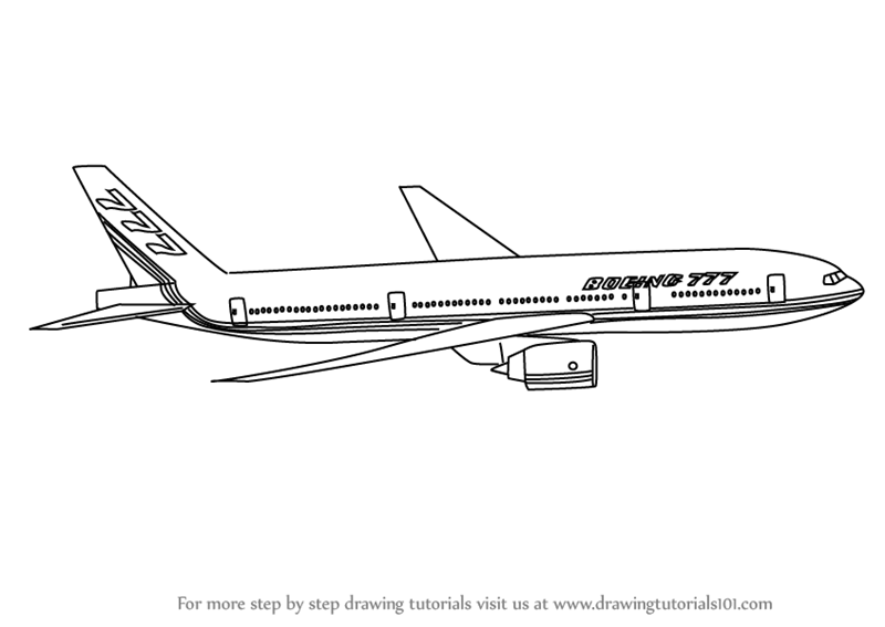 boeing 777 coloring page line drawing boeing 777 drawing page 777 boeing coloring