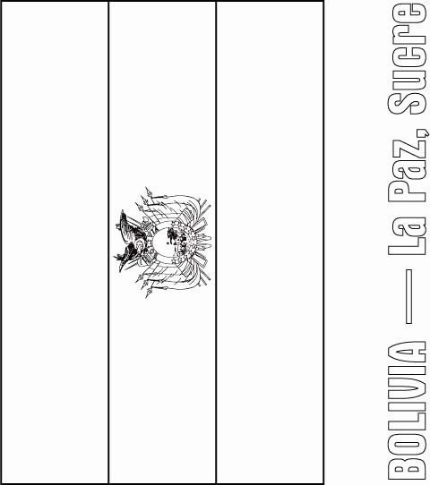bolivia flag chilean flag coloring page inspirational bolivia flag bolivia flag