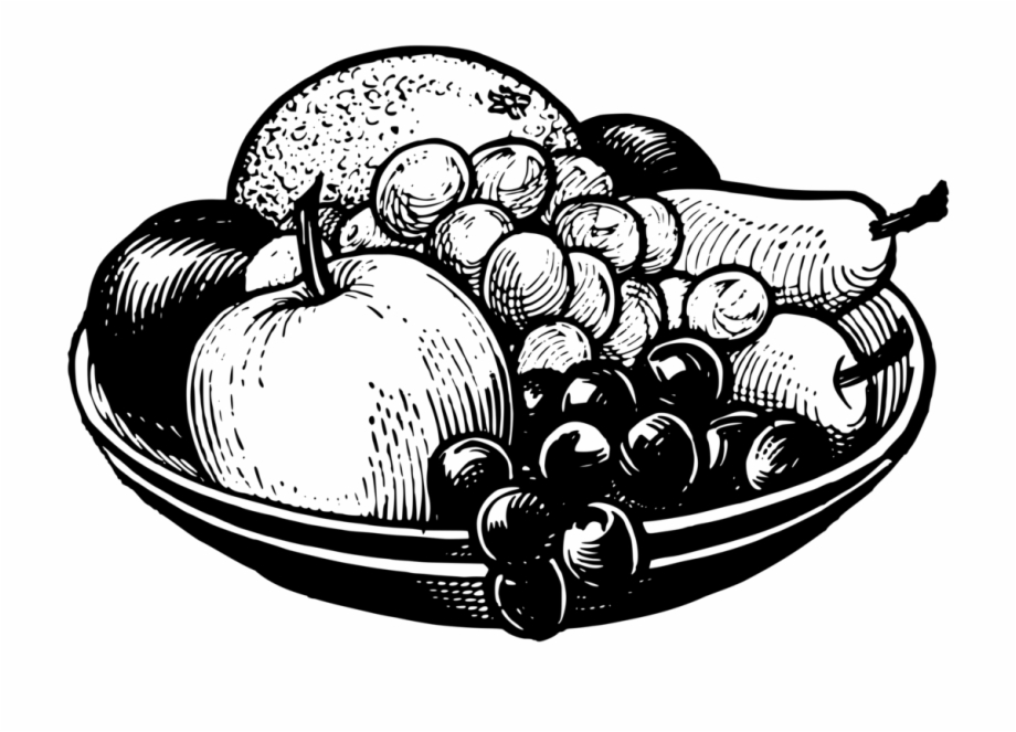 bowl of fruit drawing fruit bowl drawing at getdrawings free download of bowl drawing fruit