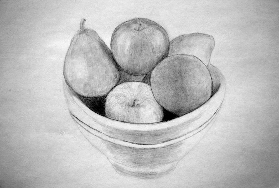 bowl of fruit drawing fruit bowl sketch at paintingvalleycom explore drawing of bowl fruit