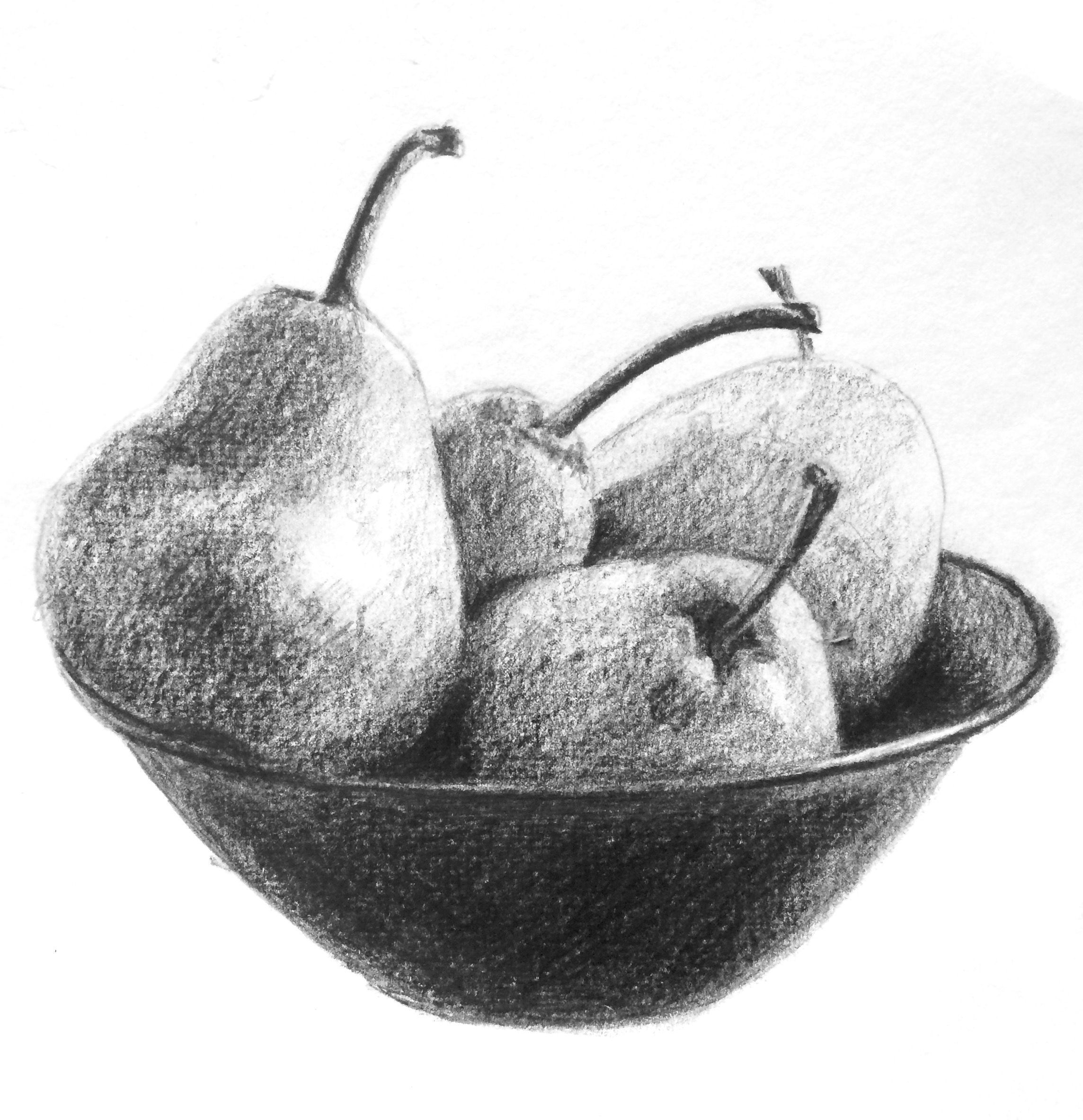 bowl of fruit drawing fruit bowl sketch at paintingvalleycom explore of bowl drawing fruit