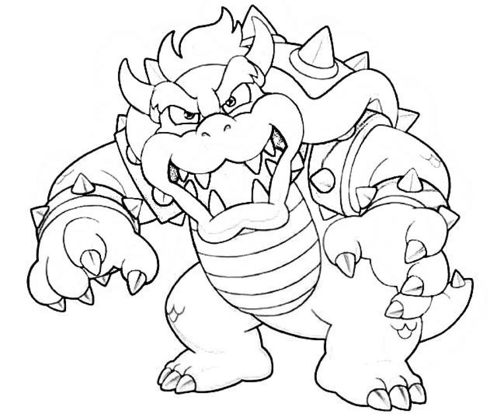 bowser to color bowser coloring pages mario coloring pages super to bowser color