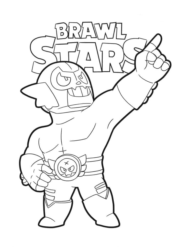 brawl star coloring brawl stars coloring pages coloring home brawl coloring star