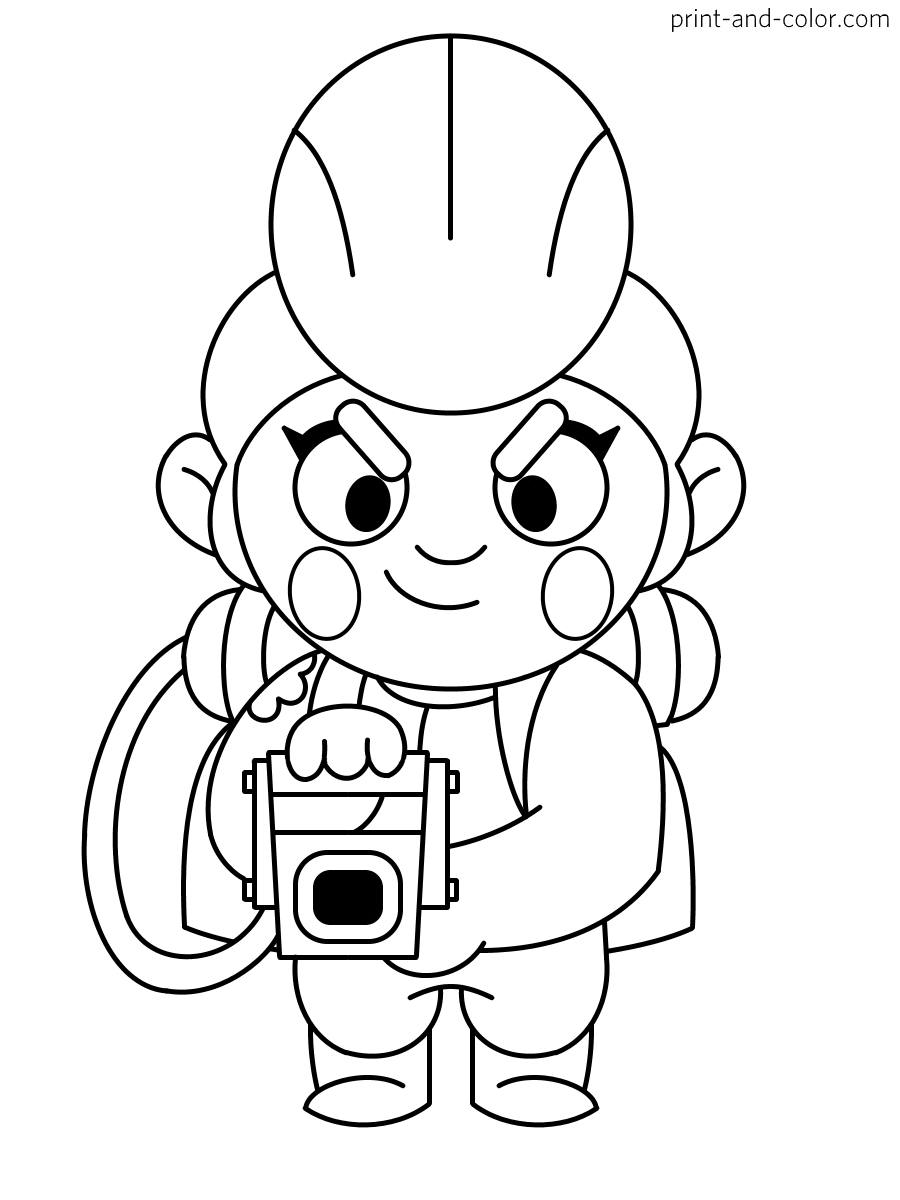 brawl star coloring brawl stars coloring pages coloring home coloring star brawl