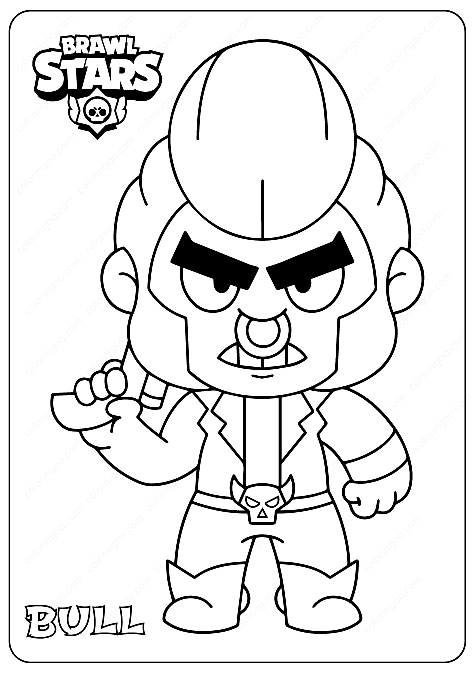 brawl star coloring brawl stars coloring pages print and colorcom brawl coloring star