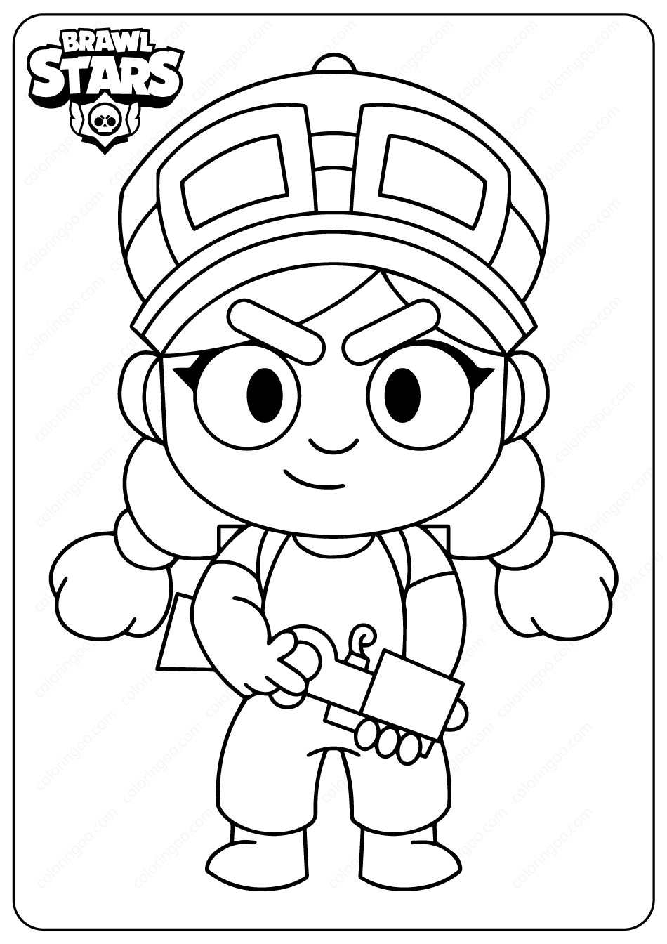 brawl star coloring brawl stars coloring pages print and colorcom coloring star brawl