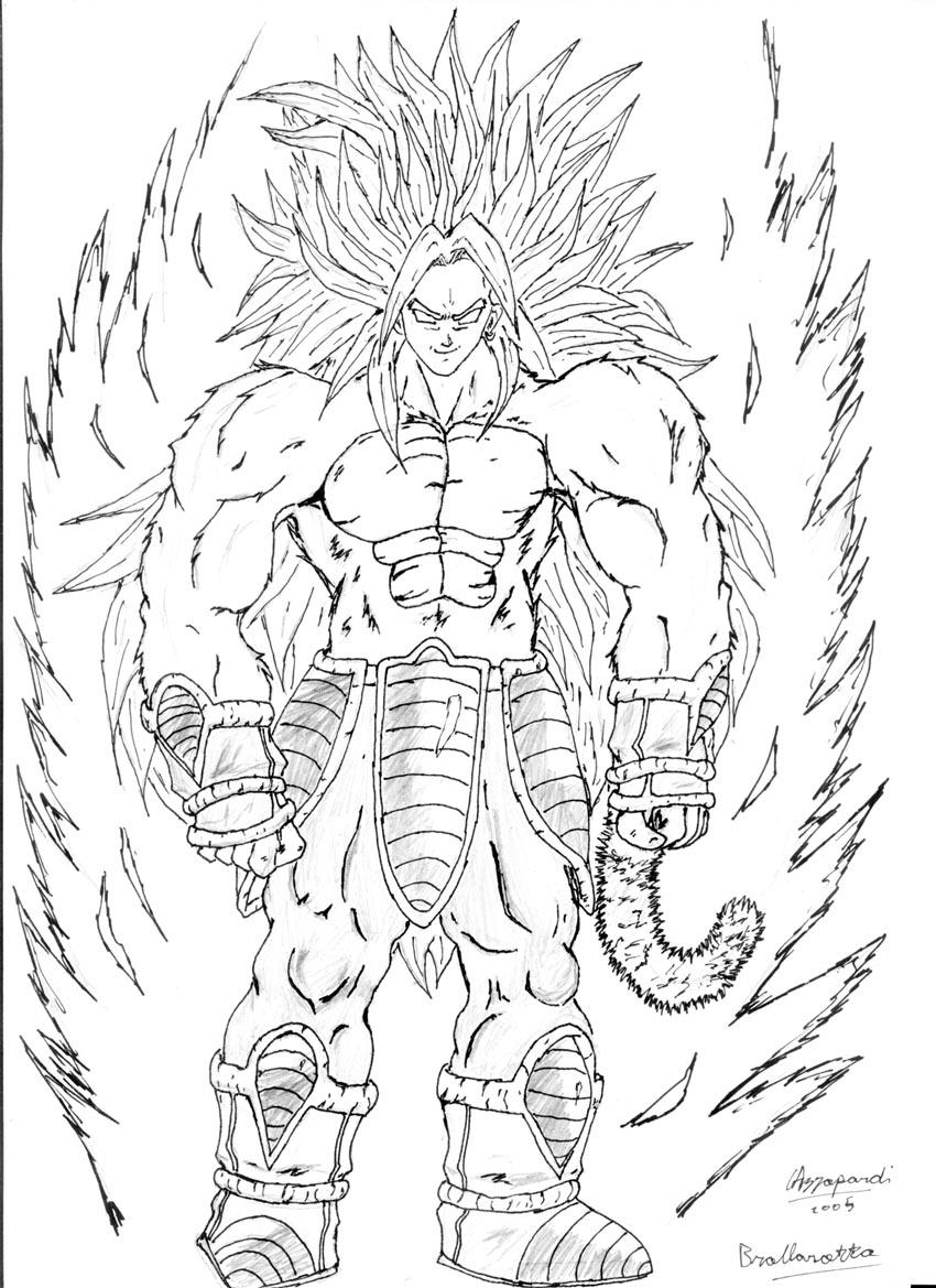 broly coloring pages broly ssj free coloring pages coloring pages broly