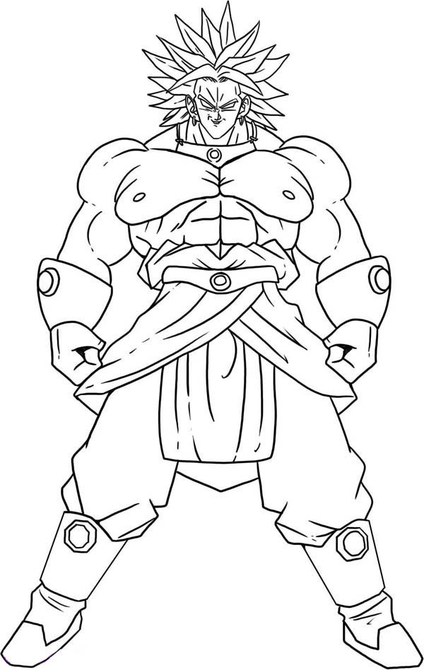 broly coloring pages lssj3 broly lineart 60 by evil black sparx 77 on broly coloring pages
