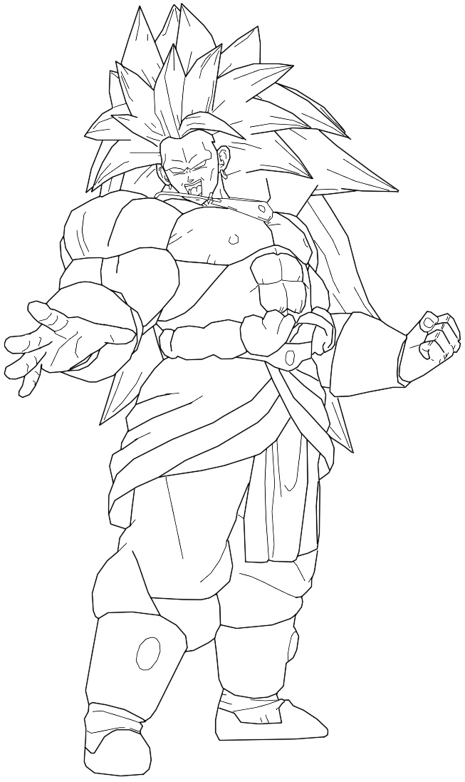 broly coloring pages ssj4 baby broly free coloring pages coloring broly pages