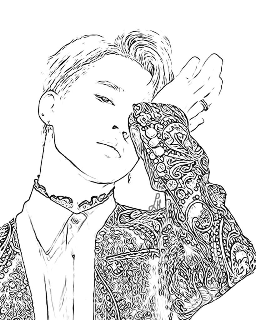 bts v coloring pages bts coloring book p294 army39s amino bts coloring v pages